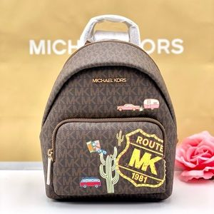 Michael Kors Erin Small Backpack Brown